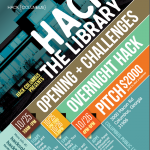 Hack the Library poster